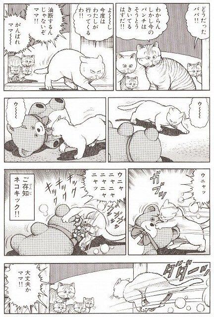 猫が人間に猫パンチしても本気で爪出してないだけ。出してたら人間も大きなダメージ食う