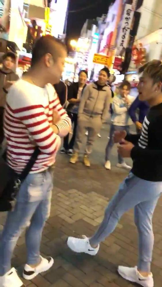 大阪DQNの喧嘩動画wwwww