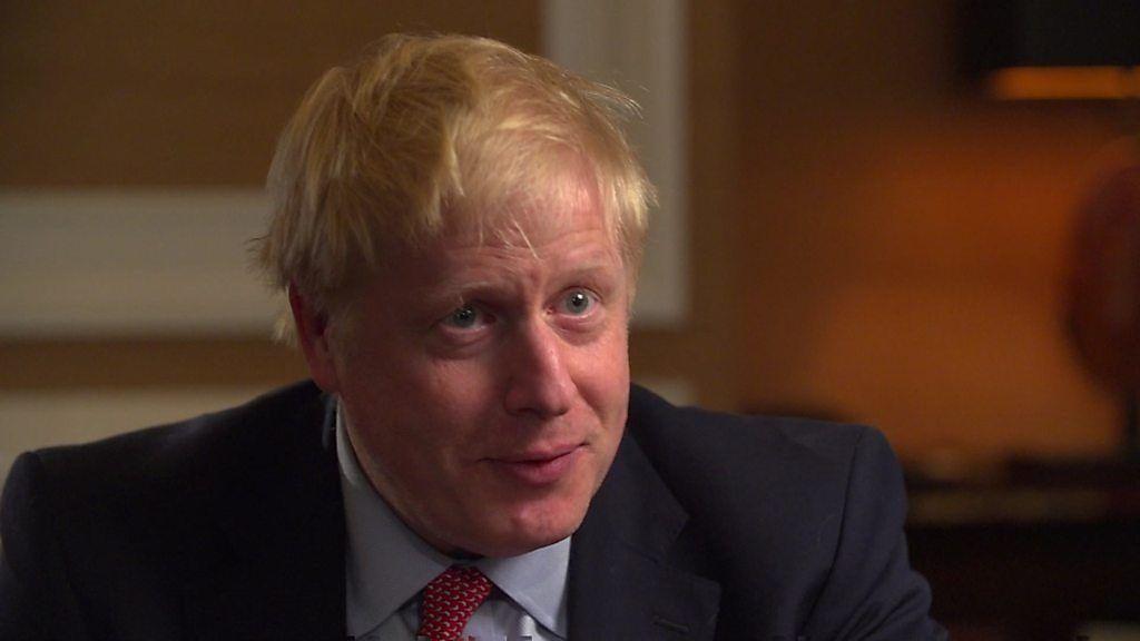 ジョンソン前外相、EU離脱計画を説明 独占インタビュー - BBC News