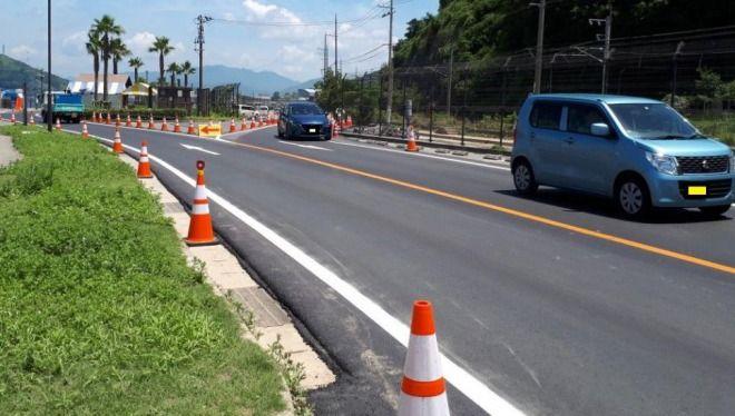 広島県の国道31号線が通行可能に!豪雨被害から復旧、呉市への重要ルート!