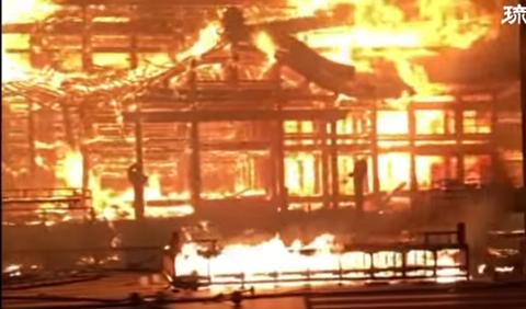 損害53億円の沖縄 首里城の火災原因を那覇市消防局が発表。「火災原因は不明です」(動画あり)