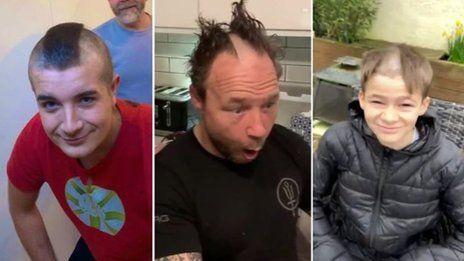 おすすめ(しない)髪の切り方 新型ウイルス対策で外出制限中 - BBC News