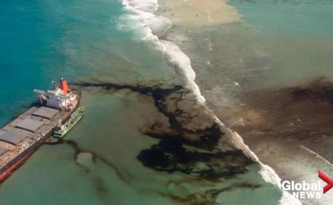 【驚き】モーリシャス沖の日本船座礁、Wi-Fi接続を求めて陸地に接近か 乗員が証言と報道