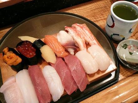 このお寿司どちらか無料だとしたら?