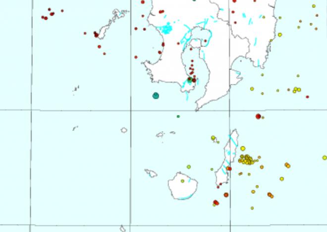 【注意】スーパームーンが地震のトリガーに?奄美大島付近で地震連発!M4.4、M4.6、M4.1、M3.4など