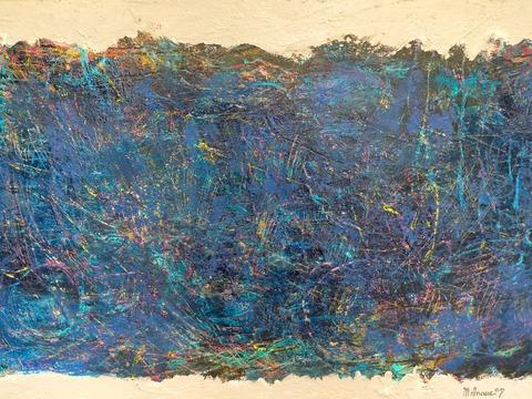 青い丘 73×117