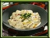 マツケンレシピ マツケン流 白いマーボー豆腐丼