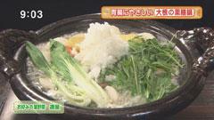 青菜 【薬膳みぞれ鍋】