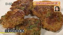 なすび亭 【白菜のお好み焼き】