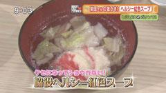 柴田理恵さん 【脇役ヘルシー紅色スープ】