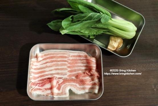 20201029肉巻き青梗菜1