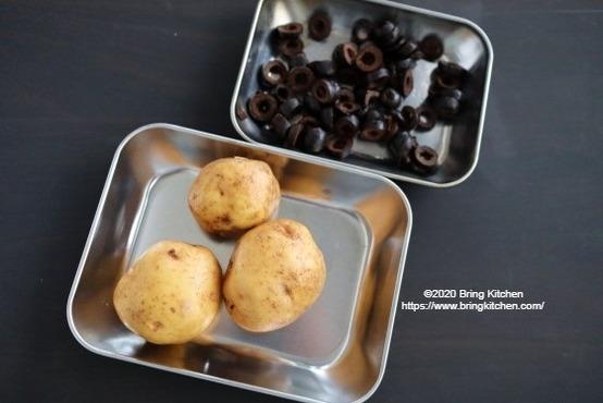 20201215オリーブ粉ふき芋1