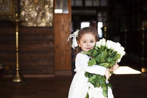 教会の少女