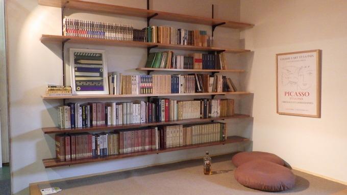 本棚付き書斎