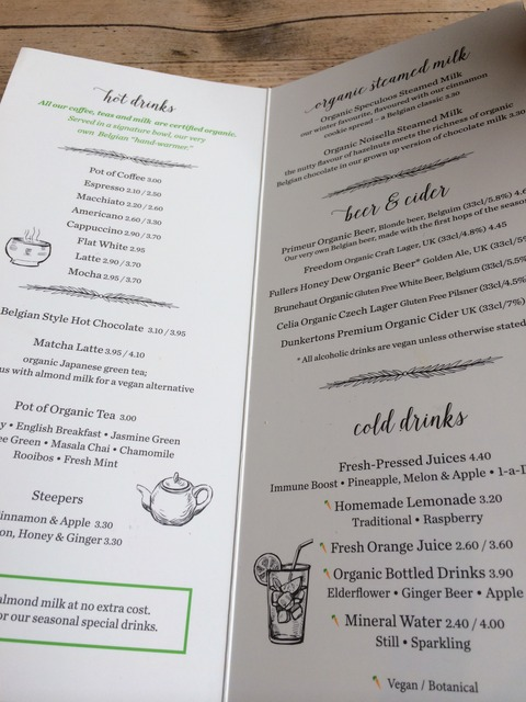 Le Pain Quotidiene_menu