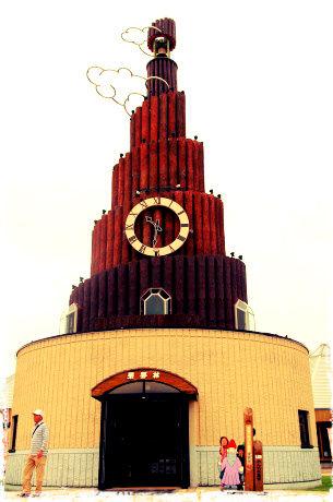 世界最大級の鳩時計