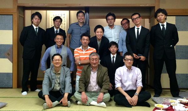福岡大学漕艇部OB会2014
