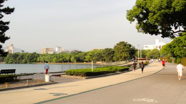 大濠公園ランニング002