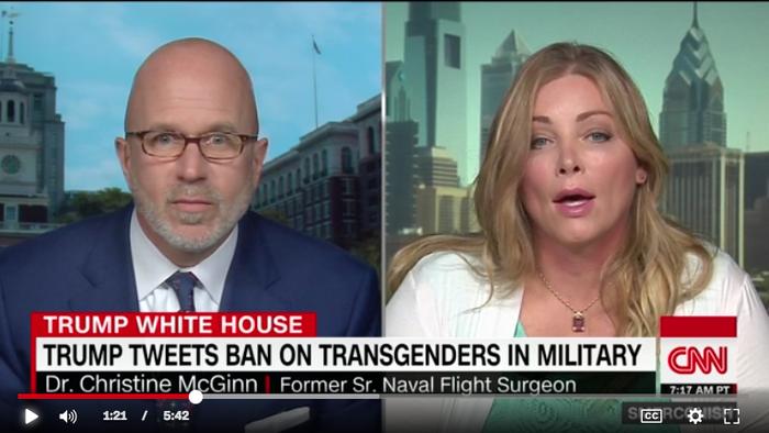 トランスジェンダー 軍隊禁止 トランプ1