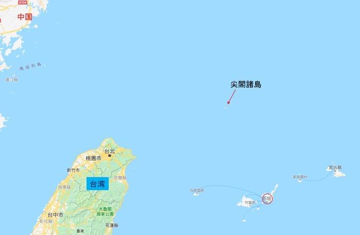 尖閣諸島 石垣島