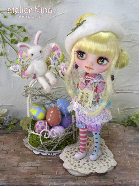 ウサギさんイースターエッグブライス