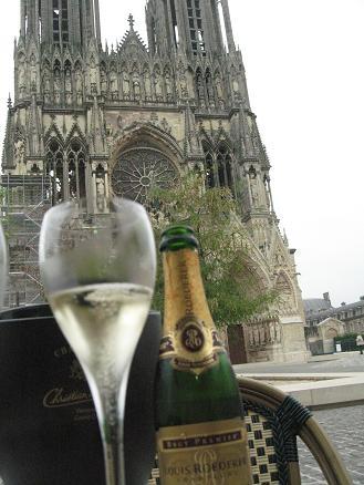 1 ランス 大聖堂 シャンパン