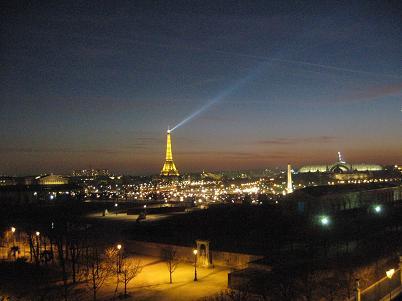 1 ウエスティン パリ 夜景
