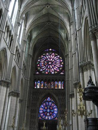 1 ランス 大聖堂 ステンドグラス