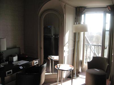 1 ウエスティン パリ 部屋
