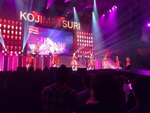【速報】AKB48小嶋陽菜卒コン「こじまつり」冒頭から「元祖神7」登場キターーーーー!!全員年齢重ねた感が半端ない件wwww【画像】
