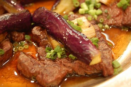 牛フィレ肉のソテー 和風