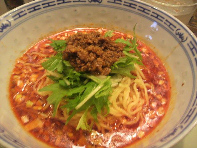 ダンダン亭 麻辣麺(マーラーめん/四川山椒辛味麺) 850円    <br>