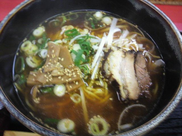 唐変木 ラーメン 600円   <br> さっぱりしたシンプルな味わいのスープだよ。