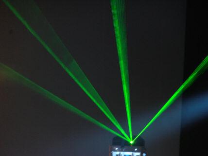 green laser 7