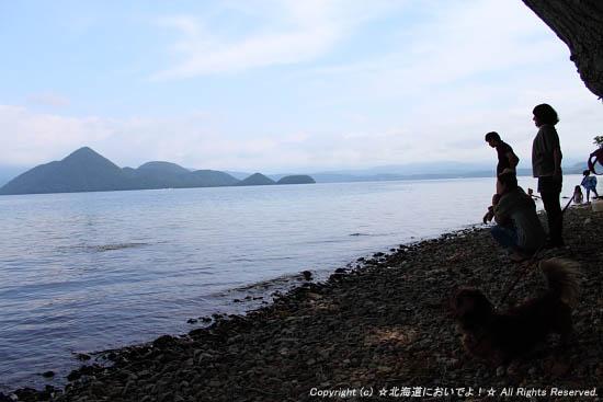 2010年7月11日(日)洞爺湖畔にて