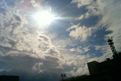 2009/7/15 札幌の空