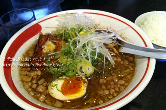 麺部屋 綱取物語の綱取味噌750円