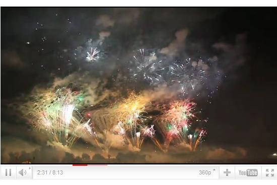 第60回勝毎花火大会の動画画像