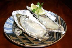 厚岸名産の牡蠣