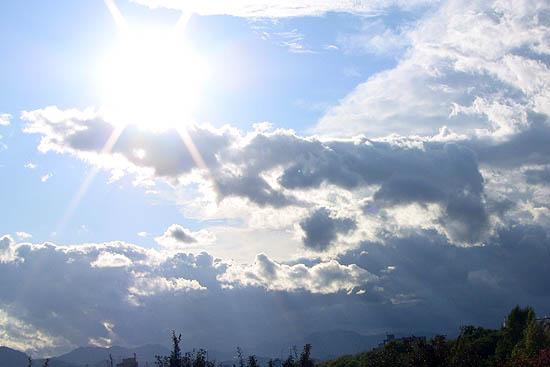 2009/10/10 札幌の空