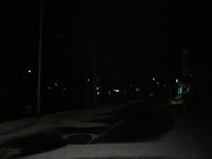 深夜のパープルロード