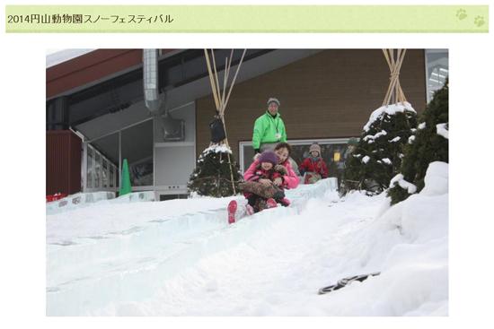 2014円山動物園スノーフェスティバル