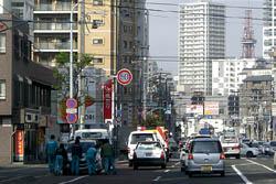 2009/10/30 札幌市国道36号線の事故