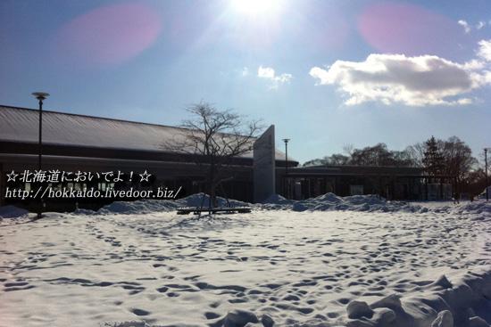 道の駅 ウトナイ湖 2013年1月13日(日)