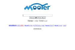 検索エンジン Mooter