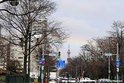 2010年4月28日(水) テレビ塔と虹