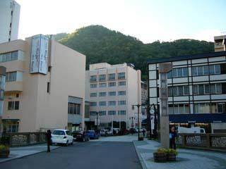 北海道の温泉街