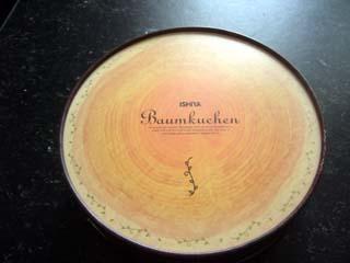 石屋製菓のバウムクーヘン