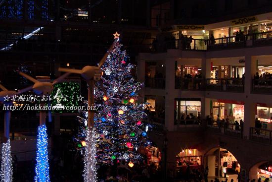 サッポロファクトリー クリスマスツリー点灯式