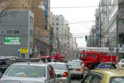 2010年3月23日(火)札幌市中央区南2条西7丁目付近